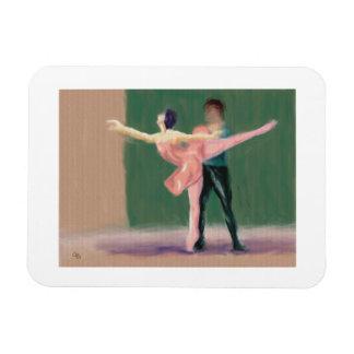 Ballet Pas de Deux Magnet