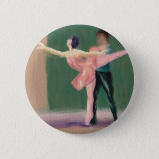 Ballet Pas de Deux Pinback Button