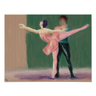 Ballet Pas de Deux Póster