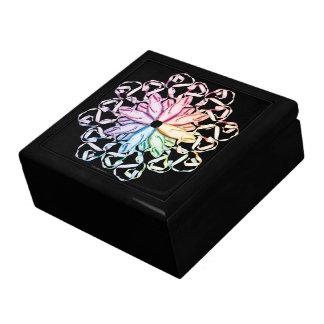 Ballet Pattern Trinket Boxes