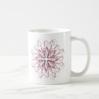 Ballet Pattern (pink) Coffee Mug