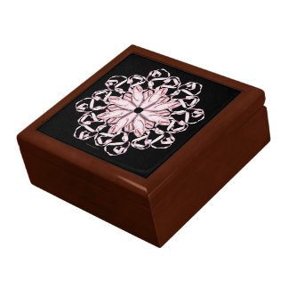 Ballet Pattern (pink) Jewelry Box