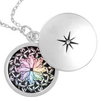 Ballet Pattern (spectral) necklace