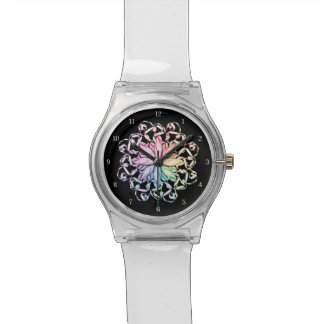 Ballet Pattern (spectral) Wrist Watch