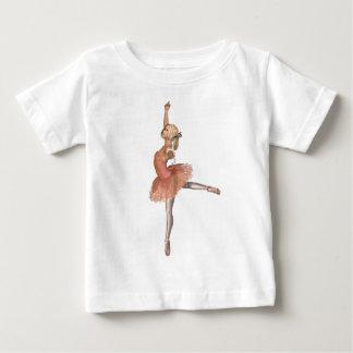Ballet Performance - Attitude Pose Baby T-Shirt