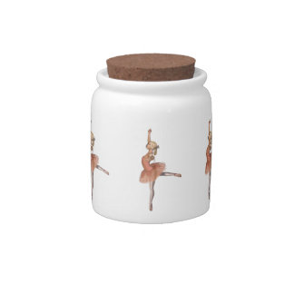 Ballet Performance - Attitude Pose Candy Dish