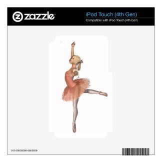 Ballet Performance - Attitude Pose iPod Touch 4G Skin