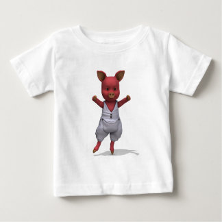 Ballet Pig En Pointe Baby T-Shirt