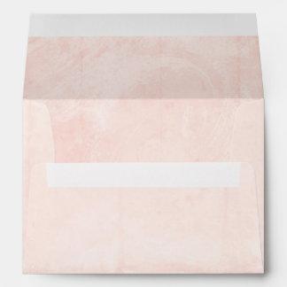 Ballet Pink Shabby Chic Envelope