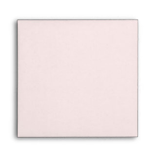 Ballet Pink with Vintage Pink White Candy Stripe Envelope