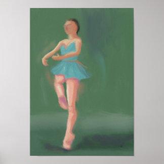Ballet Pirouette, Poster