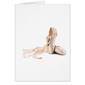 Ballet Pointe Shoes Cards