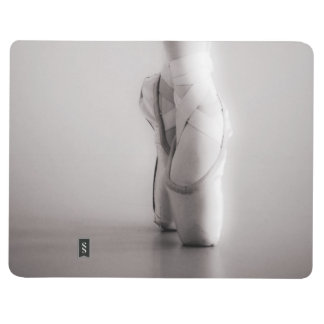 Ballet Pointe Shoes Sepia Dancing Slippers Journal