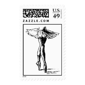 Ballet Postage Stamp