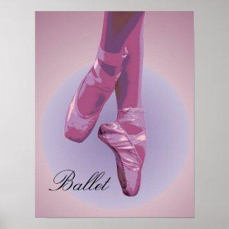 Ballet Poster print
