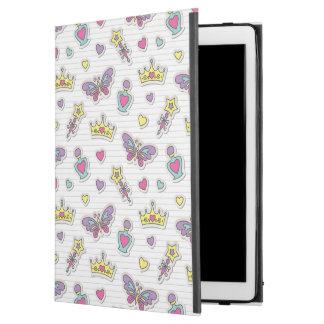 ballet princess pattern iPad pro case