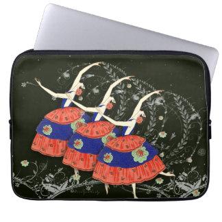 Ballet Printemps Ballerinas Laptop Sleeve