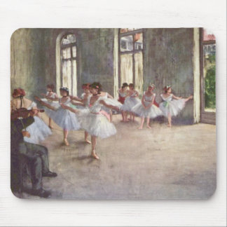 Ballet Rehearsal by Degas Mouse Pad