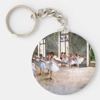 Ballet Rehearsal Keychain