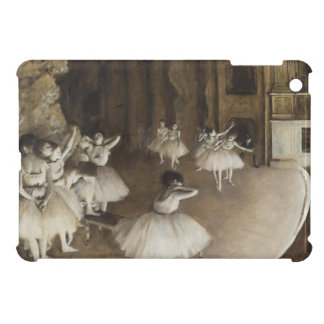 Ballet Rehearsal On Stage by Edgar Degas Case For The iPad Mini