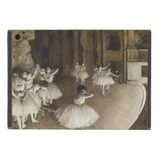Ballet Rehearsal On Stage by Edgar Degas iPad Mini Case