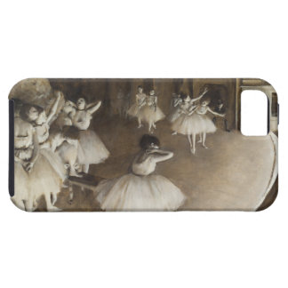 Ballet Rehearsal On Stage by Edgar Degas iPhone SE/5/5s Case