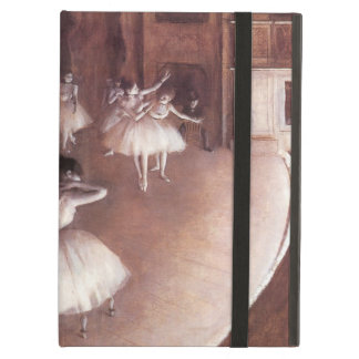 Ballet Rehearsal on the Stage by Edgar Degas iPad Air Cover