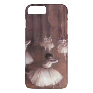 Ballet Rehearsal on the Stage by Edgar Degas iPhone 8 Plus/7 Plus Case