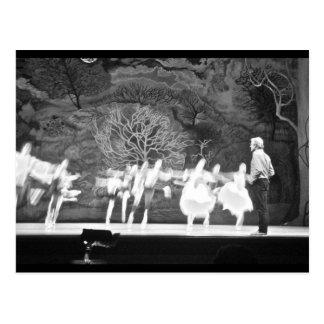 Ballet rehearsal post card