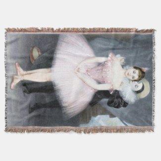 Ballet Romance Throw Blanket