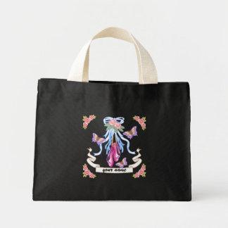 Ballet Roses Custom Name Canvas Bags