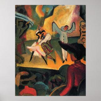 Ballet ruso 1912 póster