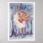 """Ballet ruso"" URSS Unión Soviética 1959 Poster"