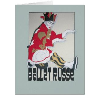 Ballet Russe Dance! Card