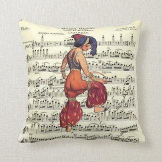 Ballet Russe Dancers Throw Pillow
