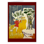 Ballet Russe de Monte Carlo Stationery Note Card