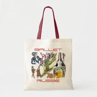 Ballet Russe Tote Bag