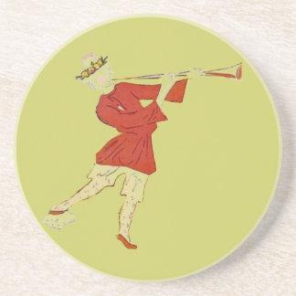 Ballet Russe trumpeter Drink Coaster