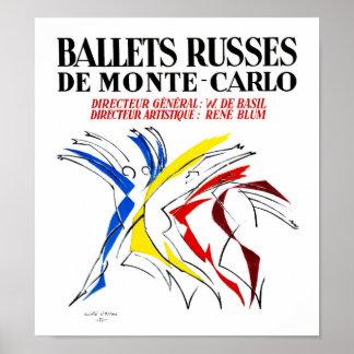 Ballet Russes Dance Poster