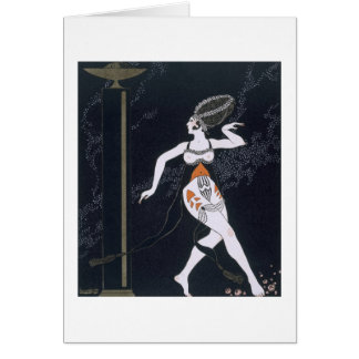 Ballet scene with Tamara Karsavina (1885-1978) 191 Card