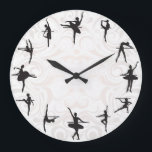 "Ballet School Ballerina Dance Wall Clock<br><div class=""desc"">Ballet School Ballerina Dance Wall Clock. Stylish, funny and crazy wall clocks! Classical, bright, glamorous, colorful, cheerful, childish, and witty – the choice of clocks is so varied that everyone can find a well designed and creative clock regardless of their gender or age! Perfect gift for family or friends! See...</div>"