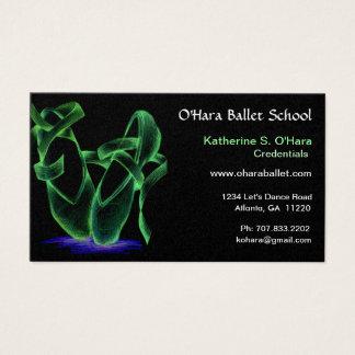Ballet School Business Card