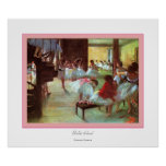 Ballet School~ Edgar Degas Impresiones