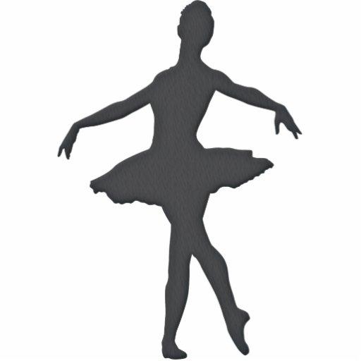 Ballet Shilouette Acrylic Cut Out Zazzle