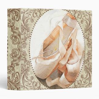 Ballet Shoes 3 Ring Binder