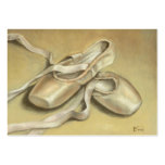 Ballet shoes ACEO prints Business Card Template