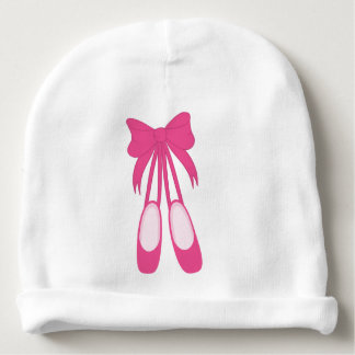 Ballet Shoes Baby Beanie