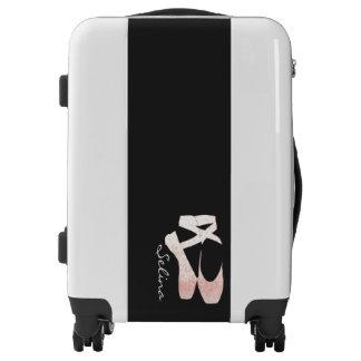 Ballet Shoes Ballerina Designer Personalized Luggage