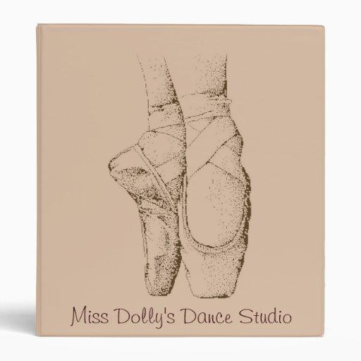 Ballet Shoes Binder