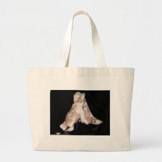 Ballet Shoes Fractal Jumbo Tote Bag